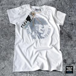 Koszulka damska z Irokezem – I Want To Rock (W/W/S)