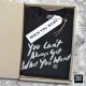 Koszulka męska z napisem You Can't Always Get... (M/B/W)